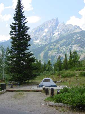 Camping in Grand Teton National Park