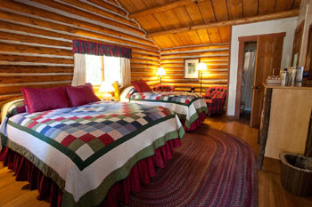 Guest Room, Jenny Lake Lodge, Grand Teton National Park